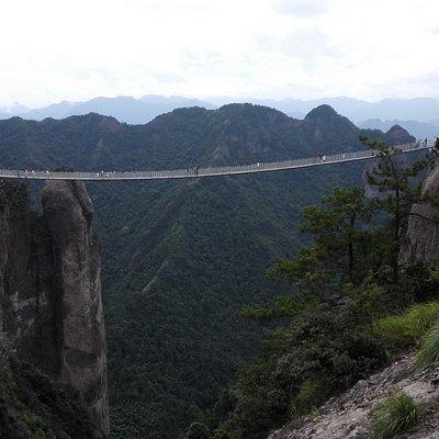 神仙居索桥
