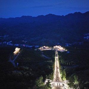 小草坝天麻基地夜景