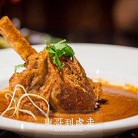 印式洋葱烩羊小腿