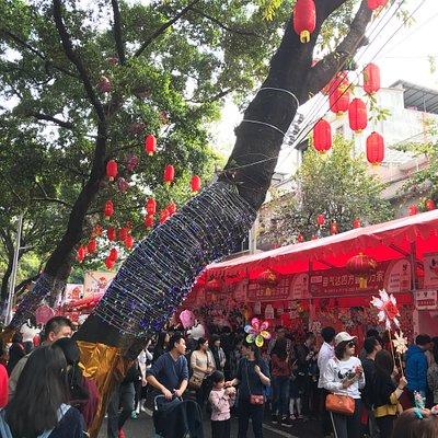 广州春节花市