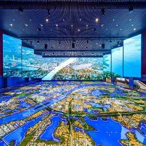 武汉城市规划展示厅