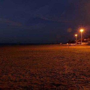 龙海天的晚上