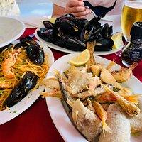 非常好吃!在意大利吃的最好的一顿饭,避开了最热闹的广场,上几步台阶,无论是环境还是食物,都很赞