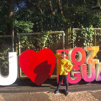 Eu amo Foz do Iguacu