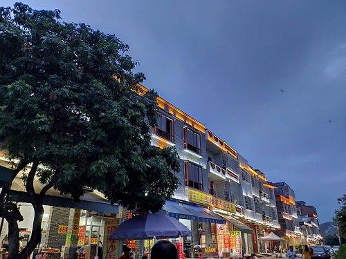 这里是镇隆古城的步行街,以前这是镇隆镇政府所在地。