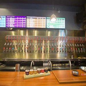 酒头最多的本土精酿啤酒吧