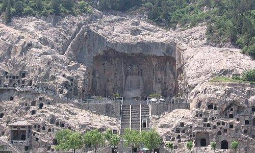 龙门石窟奉先寺