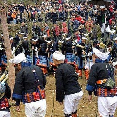 白裤瑶古老的祭祖仪式