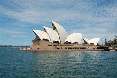 悉尼歌剧院-拍自去Manly的渡轮