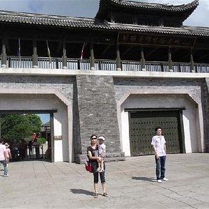 射雕城的大门