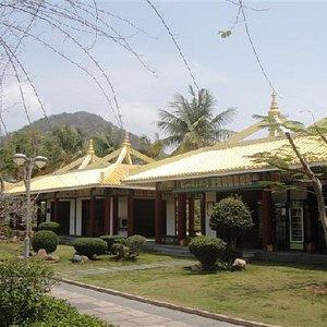 南山的庙宇