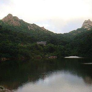 大珠山的水