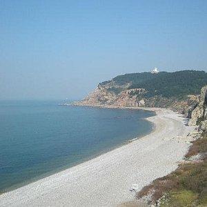 九丈崖景区的海滩