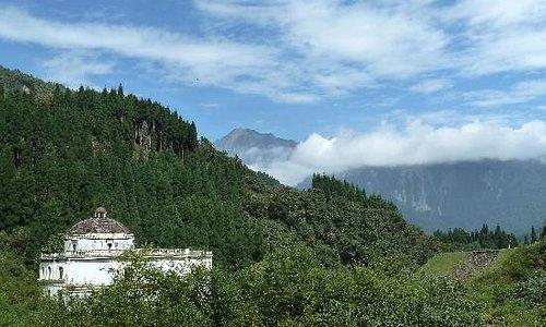 崇州鸡冠山风景