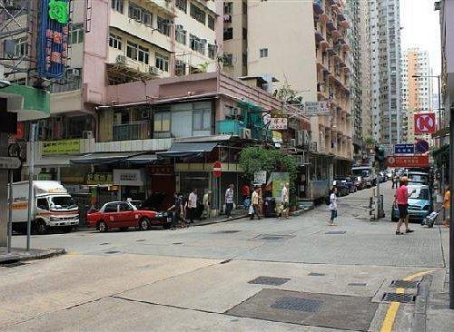 堡垒街和北景街交界