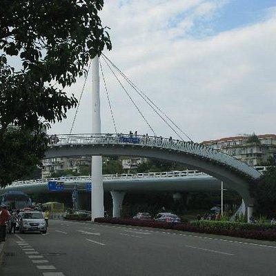 厦大白城天桥