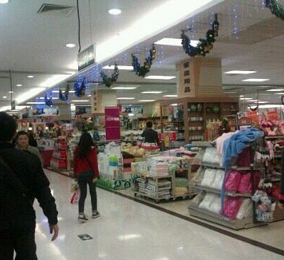 商店很多人流不太旺