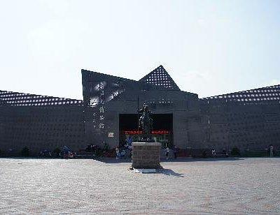 鄂温克博物馆外景