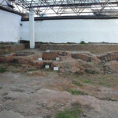 博物馆里的官窑遗址