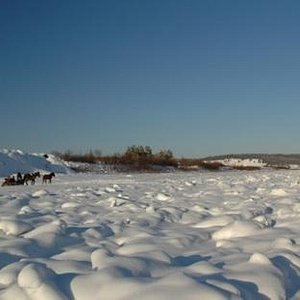 冬日黑龙江