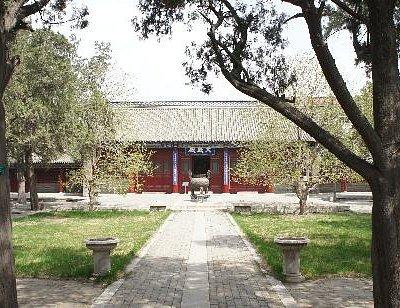 博物馆设在文庙内
