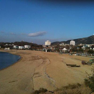 付家庄海滩