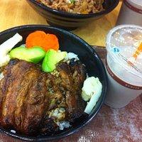 炭烧猪肉饭