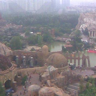 主题公园。