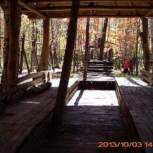 供游客休息的木屋