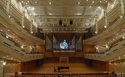北京音乐厅内景