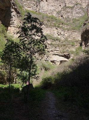 龙门涧大峡谷