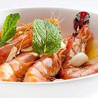 黄油焗大虾
