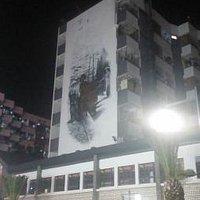 步行街壁画