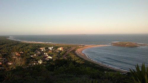 Visão do alto do Morro do Cruzeiro