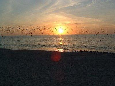 Sun Set at Naples