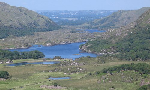 A scenic point along the N71 portion of the Ring of Kerry,