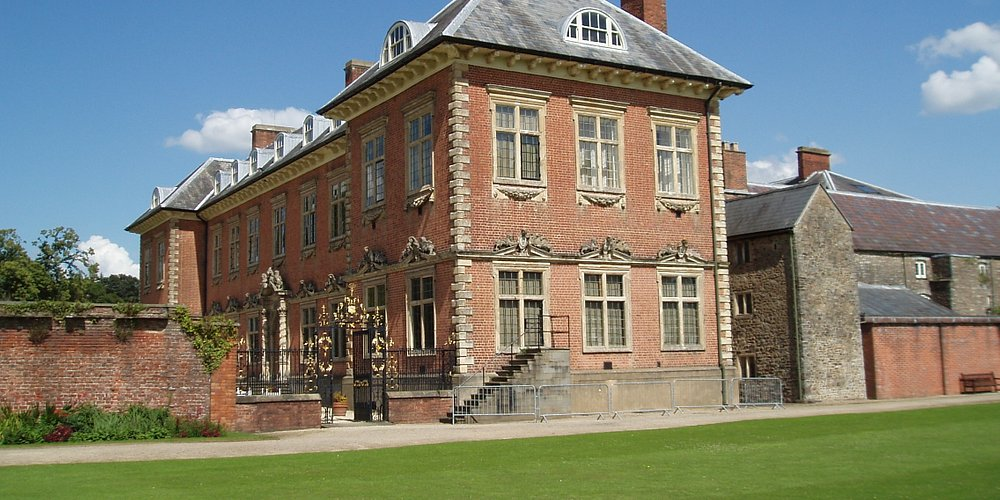 Newport, Tredegar House, buildings of the 17th and 15th centuries