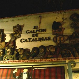 The theater is called el Galpon (the shed) de Catalinas