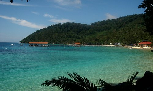Tioman Island view from hill Kg. Salang