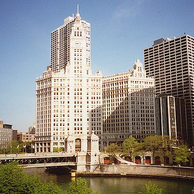 Wrigley Building, Chicago, Illinois, United States