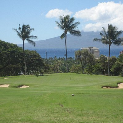 Check out the beautiful 11th hole on Kai