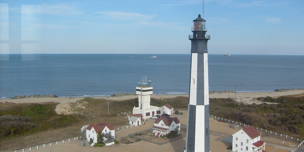 View of New Cape Henry Lighthouse