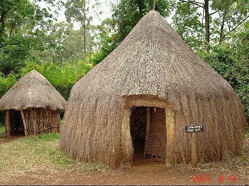 a homestead at the bomas of Kenya