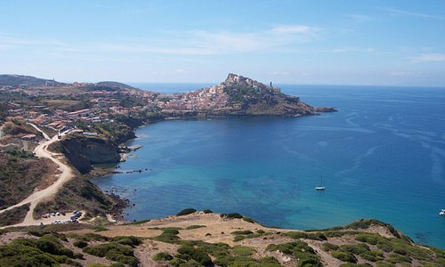 View from Baia Ostina at Castelsardo