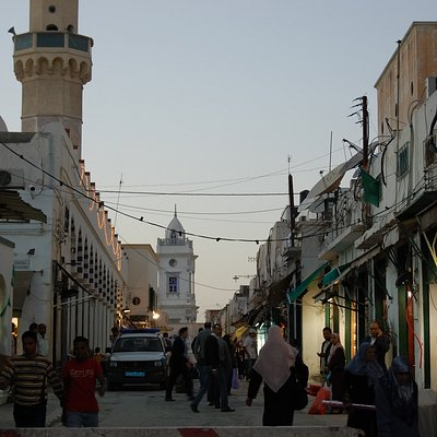 one of the biggest street of old town - Tripoli Medina, just next to Tripoli Castle