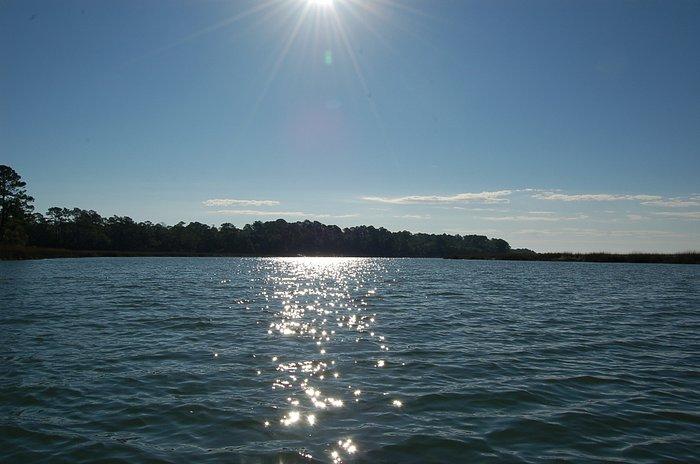 Sun above the Marsh