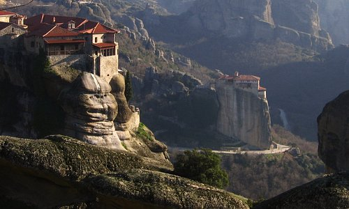 View from Megalo Meteora