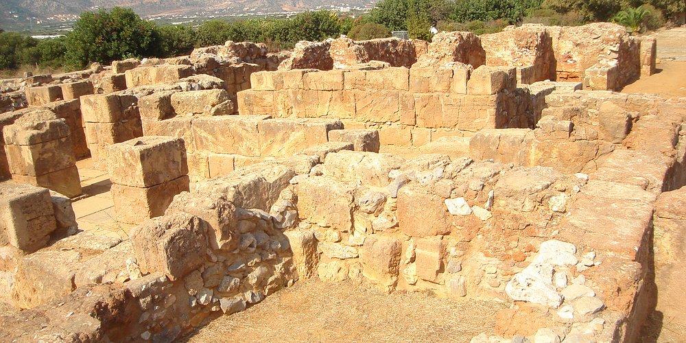 Ruins of Palace at Malia