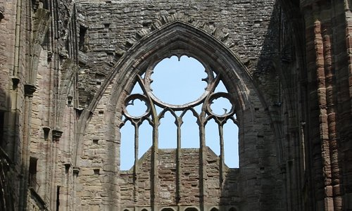 A view of one end of the abbey