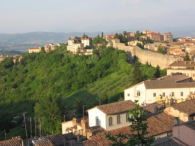 frm the top of perugia